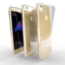 Ochranné TPU púzdro pre Huawei P8 Lite 2017 priehľadné