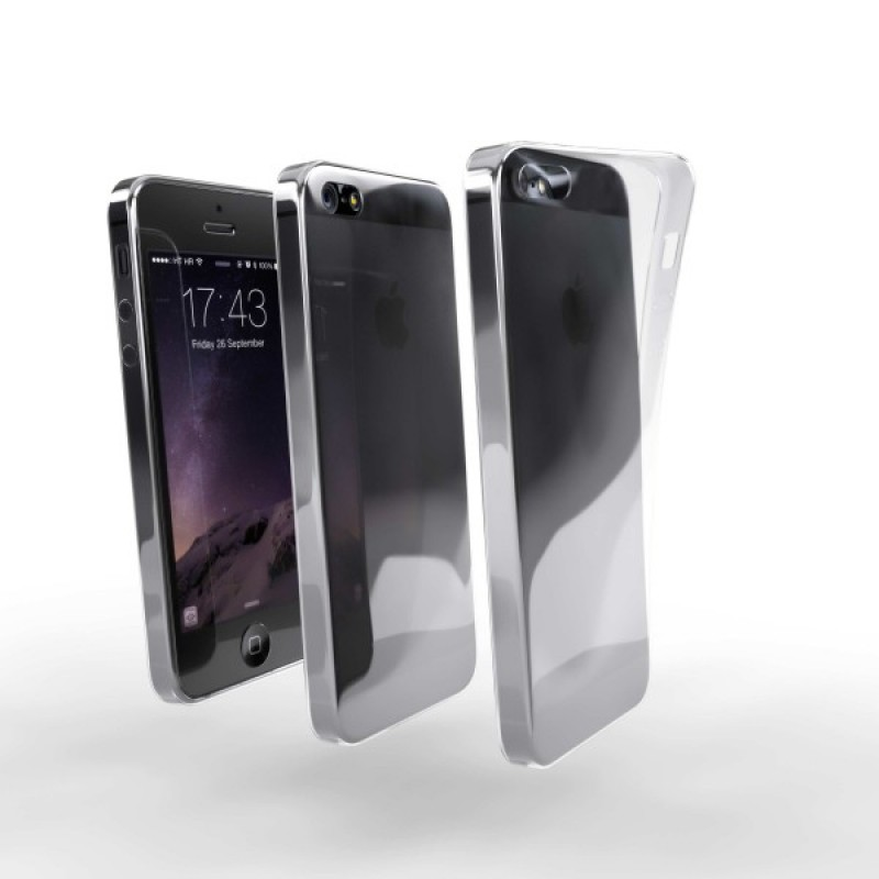 Ochranné TPU púzdro pre Apple iPhone 5 priehľadné dff39af1def