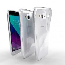 Ochranné TPU púzdro pre Samsung Galaxy J3 Duos 2016 priehľadné